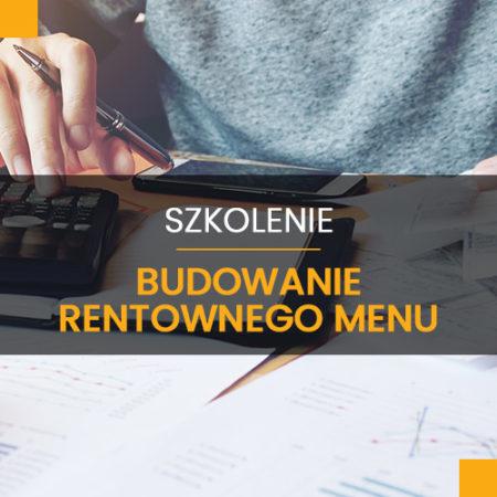 Budowanie rentownego menu